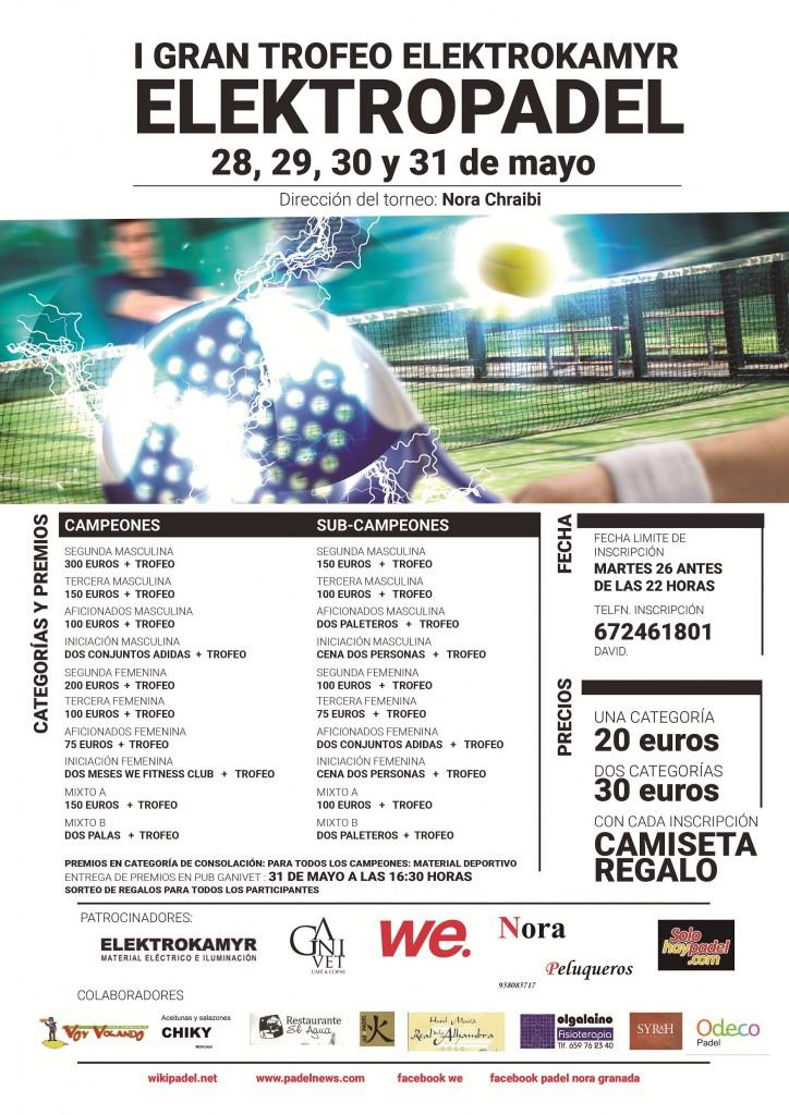 "I Gran Trofeo Elektrokamyr ""Electropadel"""